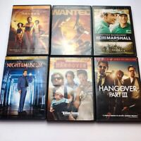 Lot of 6 DVD's Action and Comedy Very Good Condition