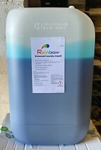 Rainbow enhanced laundry liquid