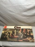Vintage 1972 Clue Board Game Complete A Parker Brothers Game #45 Espanola
