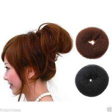 Coleta goma moño pelo DIY Pure Knitted Hair Bun Hair Donut New Hair clip
