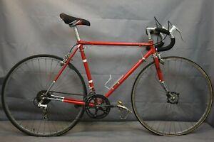 1989 Schwinn Voyageur Vintage Touring Road Bike 54cm Small Butted Steel Charity!