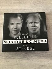Bruno Pelletier CD Guy St-Onge Musique et Cinema Bonne Condition