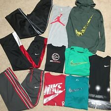 Boy Nike Xl Lot Athletic Pants And T-Shirts Dri-Fit Swoosh Jordan Air Basketball
