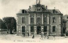 Carte VERNON L'Hôtel des Postes Facteur et son vélo Enfants