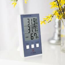 LCD Digital Indoor/Outdoor Thermometer Hygrometer Temperature Measure Test