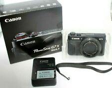 USED Canon G7X Mark II PowerShot 20.1MP Digital Camera - Black SN:0711