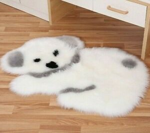 Lang Plüsch Panda Koala Teppich Matte Matratze Schlafzimmer Tiere Form Flauschig