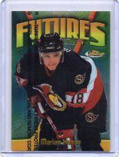 MARIAN HOSSA Senators 1998/99 Topps Finest Futures Finest 18/500 Jersey Number