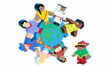 Multicultural Wooden Children Of The World Puzzle Ref: C6353