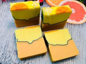 Citrus & Sea Salt, Natural, Handcrafted, Soap, Kunani, Vegan, Palm Free