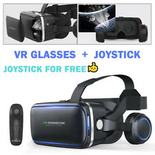 VR Headset VR BOX Virtual Reality Glasses 3D Fit Iphone X 8 7 Samsung S9 S8 S7 A