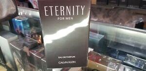 Eternity by Calvin Klein 3.3 3.4 oz 100 ml EDP for Men Parfum New in Sealed Box