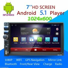 "7"" HD Android 5.1 Car Stereo Radio Player GPS Navigation 2Din WIFI AM/FM BT BEST"