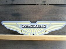 Cast Iron Aston Martin Plaque