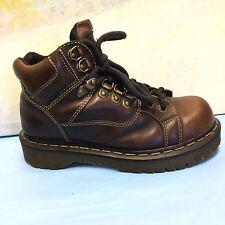 Dr Martens Mens Brown Leather Hiking Ankle Boots 9349 Size UK5/USM6/USL7