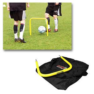 Diamond Football Passing Arc Set Deal - Skill Training Aid Passing Outdoor Use