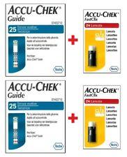ACCU-CHEK Guide 50 strisce per glicemia + 50 pungidito ACCU-CHEK FastClix
