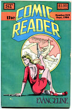COMIC READER #219, VF,  Evangeline, Judy Hunt, Fanzine, 1984, more in store
