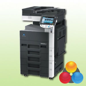 Konica Minolta bizhub 363 Kopierer Drucker Scanner LAN s/w A3 4.PF Multifunktion
