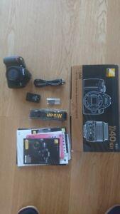 BOXED Nikon D40 6.1 MP Digital SLR Camera - Black (Body only)