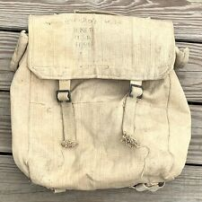 Vintage Duck Canvas Backpack Rucksack Travel Bag Military Scouts BOHO