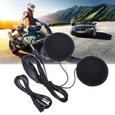 Moto Écouteur Oreillette Main Libre pour Casque MP3 Prise 3.5mm Avec Microphone