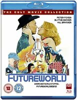 Futureworld Blu Ray UK (Westworld Sequel) Peter Fonda, Yul Brynner