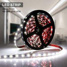 AMBOTHER 5m 300 LED 2835 SMD Strip Kit Light Ribbon 6000K White Fairy Light