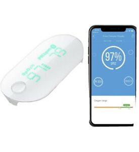 iHealth Air Bluetooth Wireless  Fingertip Pulse Oximeter Track Your Sats NEW