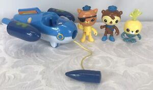 2013 Mattel Octonauts Vehicle Plus 3 Figures