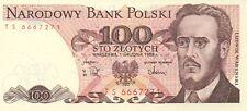 POLOGNE/P143e // Billet de 100 ZLOTY-1/12/1988