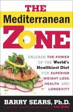 ZINC INK* 272 Pages THE MEDITERRANEAN ZONE Barry Sears Ph.D. WEIGHT LOSS/DIET