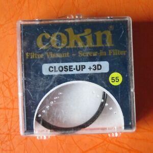 Cokin Filtre Vissant Screw in Filter CLOSE-UP + 3D diam. 55mm