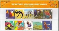 GB Presentation Pack 458 2011 OLYMPIC & PARALYMPIC GAMES