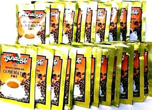 Vinacafe 3-In-1 Instant Vietnamese Coffee Mix 100 Sachets x 20 g