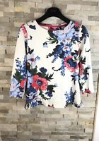 Joules Ladies Size 8 UK Floral Cotton Jersey Top