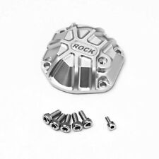 GMADE 3D MACHINED DIFFERENTIAL COVER SILVER FOR GS01 AXLE GMA30012