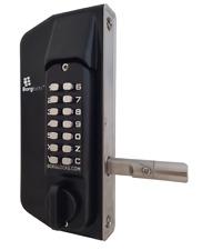Borg Locks BL3130 Digital Metal Gate Lock Back to Back Keypads