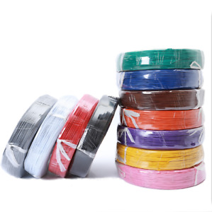 18/22/24/26AWG Multi-stranded UL1007 Electronic Wire  Tinned Copper Cable Colors