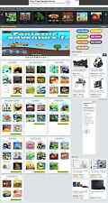 FREE FLASH GAMES WEBSITE BUSINESS FOR SALE! MOBILE RESPONSIVE WORDPRESS WEBSITE