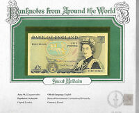 World Banknotes Great Britain 5 pounds 1980-87 P 378c UNC Somerset KS52