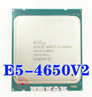 SR1AG Intel Xeon PROCESSOR E5-4650V2 2.40GHZ 25MB 8GT/s LGA 10Core CPU