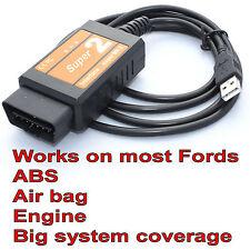 ABS Air Bag SRS Engine Injector Programming Scanner For Ford OBD & OBD2