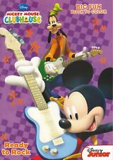 Disney Mickey Mouse Coloring Book ~ Ready to Rock!