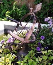 Jardin Horloge Solaire 33cm Haut Fonte Antique Style de Nostalgie Jardin Neuf