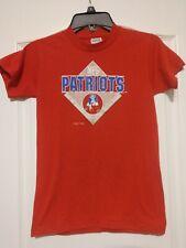 Vintage 80s New England Patriots Logo 7 Stedman NFL Football Shirt - Youth L