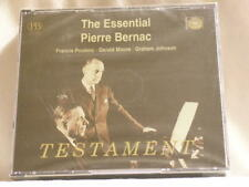 Essential PIERRE BERNAC Francis Poulenc Gerald Moore Testament SEALED 3 CD set