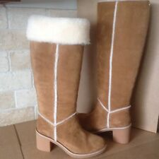 6cfca50eb21 New ListingUGG KASEN TALL CHESTNUT SUEDE SHEEPSKIN KNEE HIGH BOOTS SIZE US  10 WOMENS