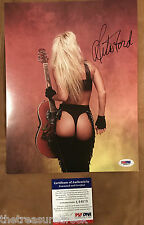LITA FORD signed autographed 8x10 photo photograph PSA DNA COA KISS ME DEADLY