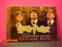 HARRY POTTER AND THE SORCERER'S STONE SCHOLASTIC POSTCARDs